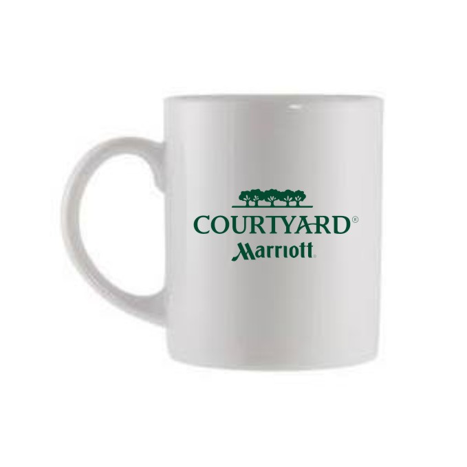 Coffee Cups -  2-Side Logo - 11oz.