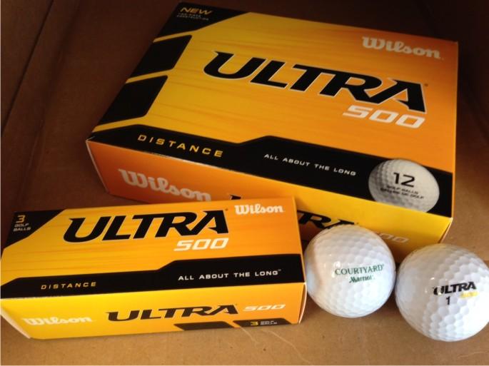 Golf Balls, 1 Dozen.  4 Sleeves - 3 Balls per Sleeve.