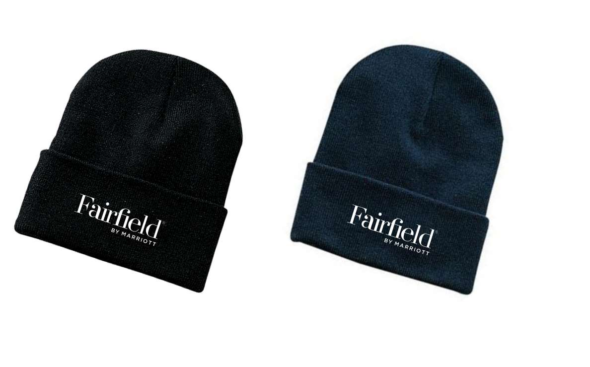 Ski Hats, Knitted. Black or Navy Blue - 1 Size Fits All - 100% Acrylic