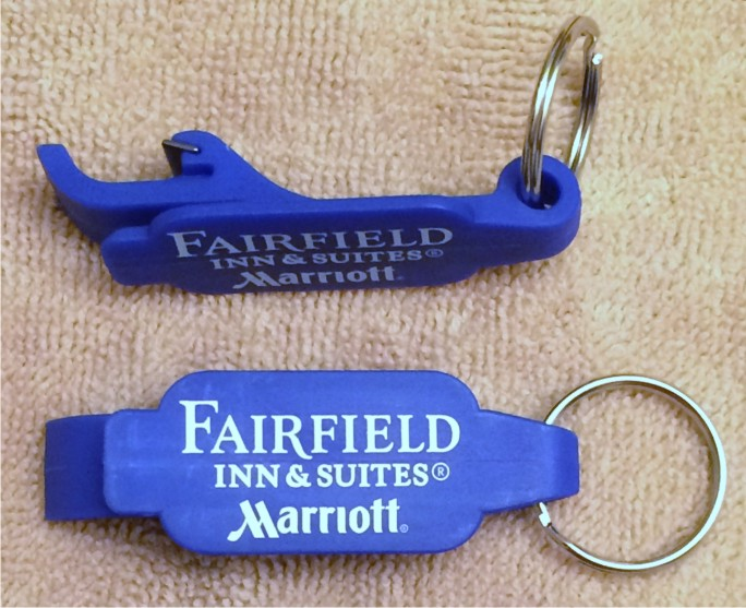 Beverage Wrenches - Open all bottles with stainless-steel keyring