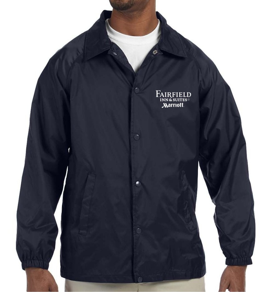 Light Lined Jackets - Navy Blue - for Cooler Weather