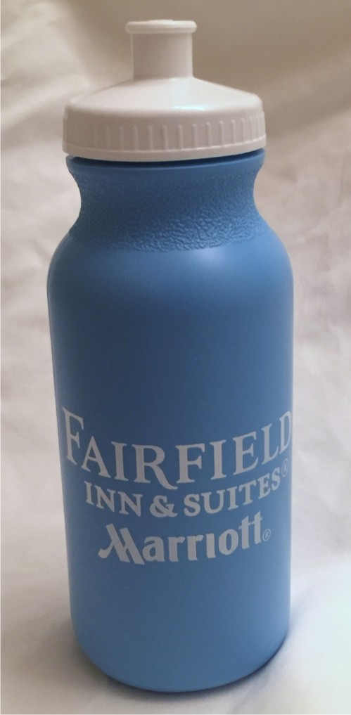 Sport Bottles. 20oz. 2 Logos (one on each side) - BPA Compliant