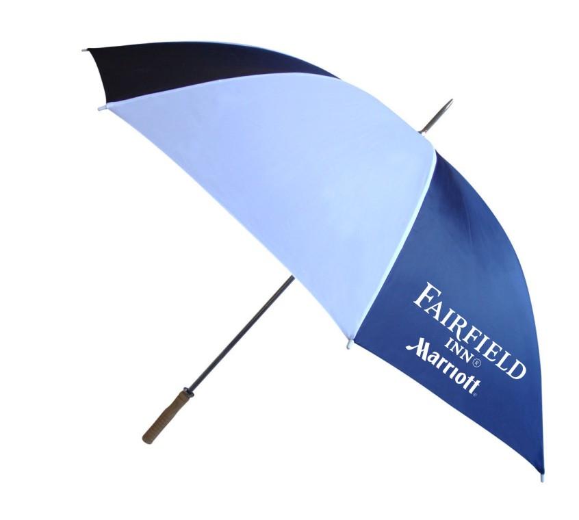 """62"""" Large Gatehouse / Golf Umbrellas - 2 Sided Logo!"""