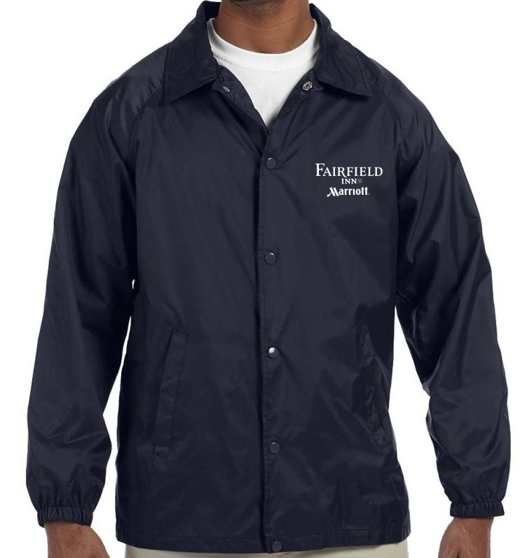 Light Lined Jackets - Navy - for Cooler Weather