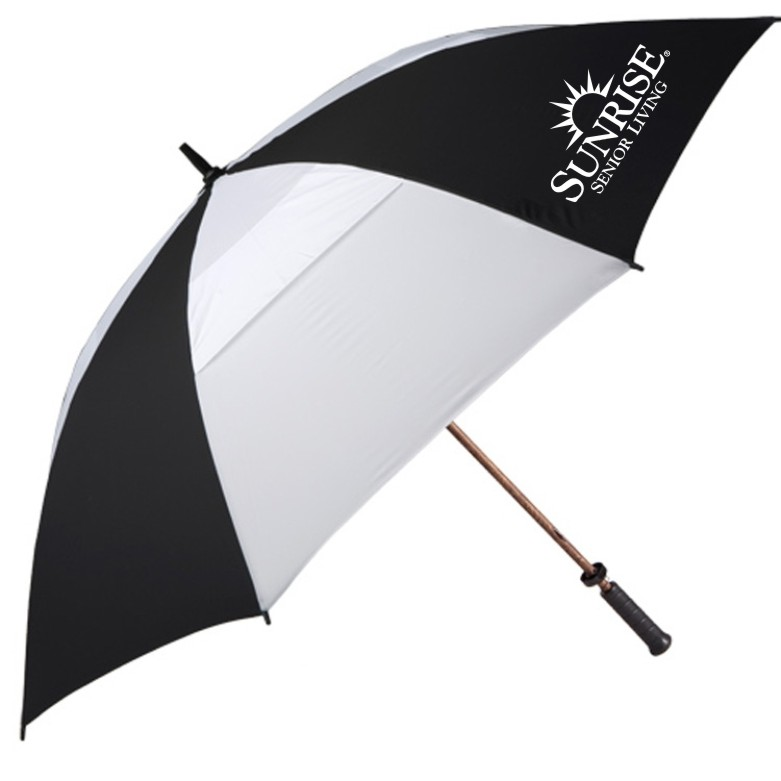 "62"" Large Gatehouse / Golf Umbrellas - 2 Sided Logo!"