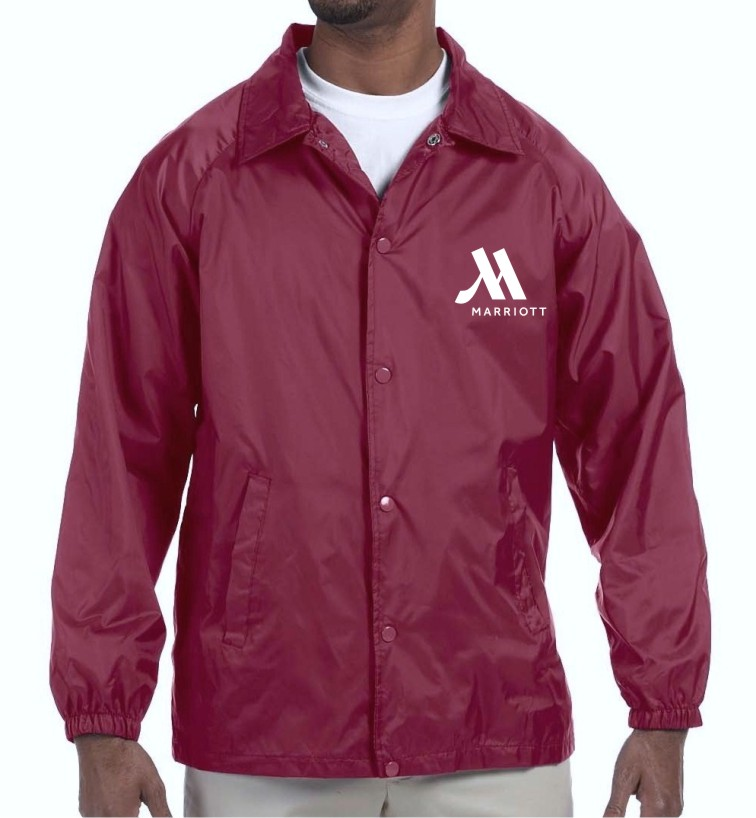 Light Lined Jackets - Maroon - for Cooler Weather