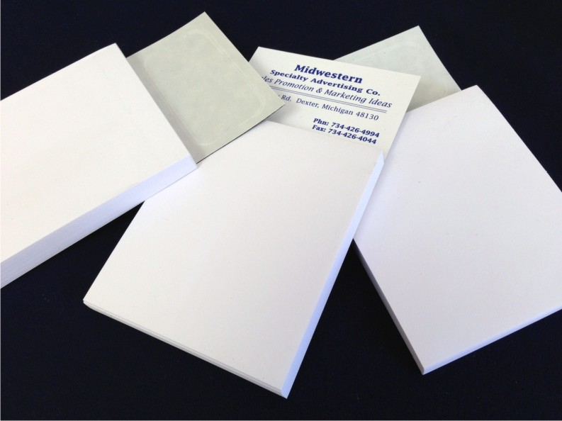Note pad with magnet turn your business card into a note pad note pad with magnet turn your business card into a note pad magnet on back 50 sheets reheart Choice Image