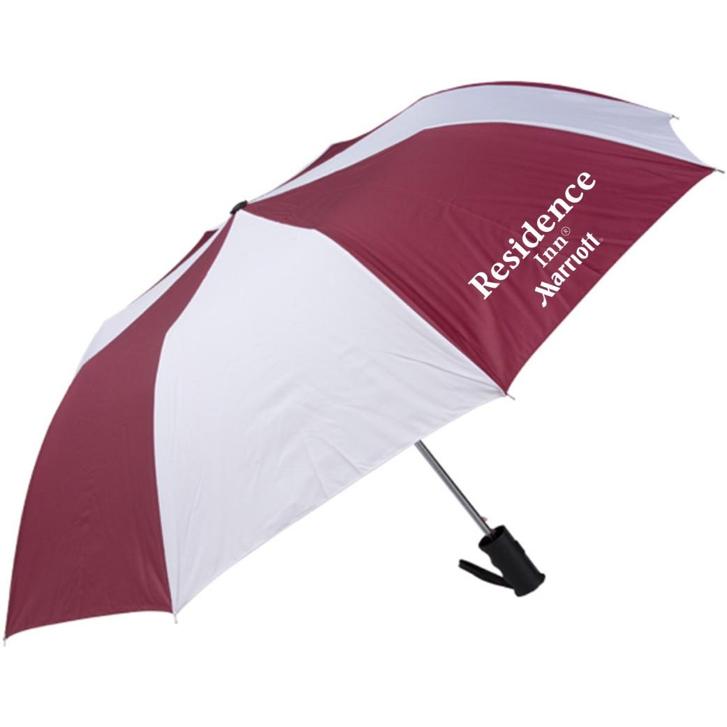 "42"" Auto Open Umbrella - 2 Sided Logo!"