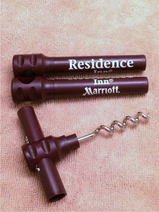 Corkscrews with Stainless steel screw.