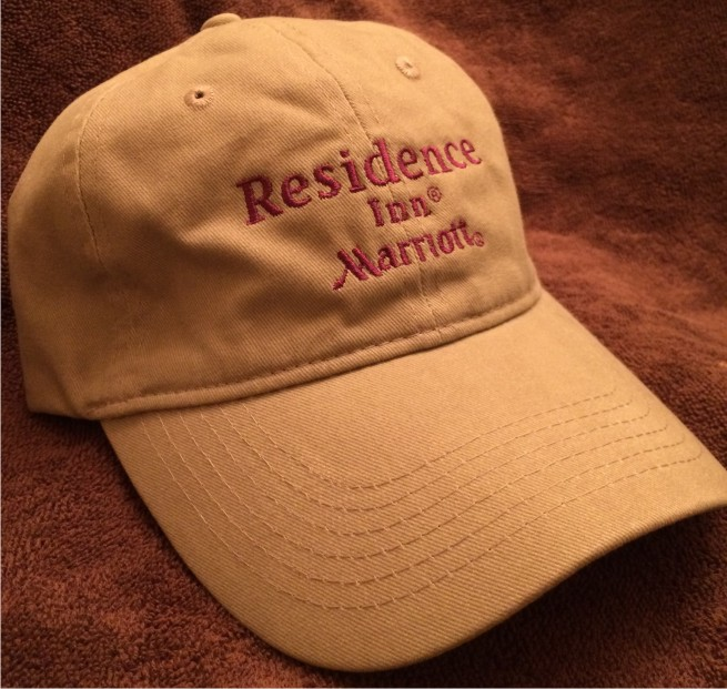 Brush Twill Caps - Embroidered! w/ Adjustable Strap in back
