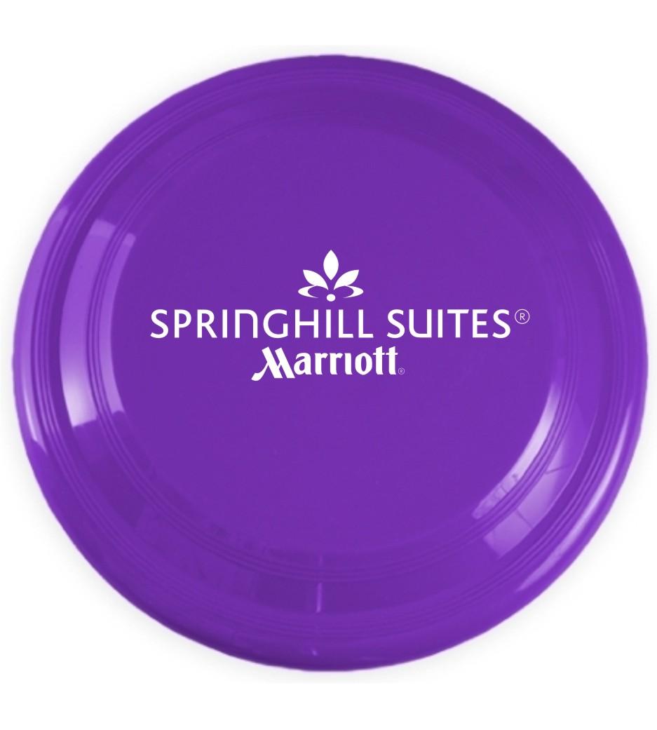 Frisbees.  Larger flyer for summetime.
