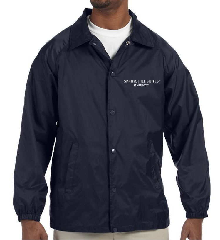 Light Lined Jackets - Nylon Shell/Polyester Lining - for Cooler Weather