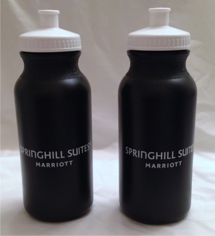 Sport Bottles.  20oz.  2 - Sided Logo!  BPA compliant.