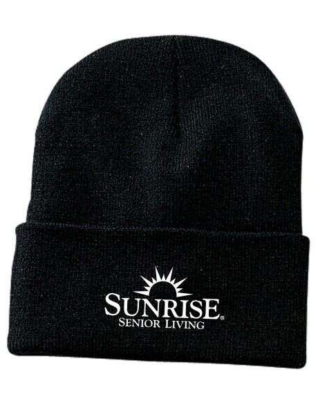 Ski Hats, Knitted. Black.  Other colors may be available, please inquire.