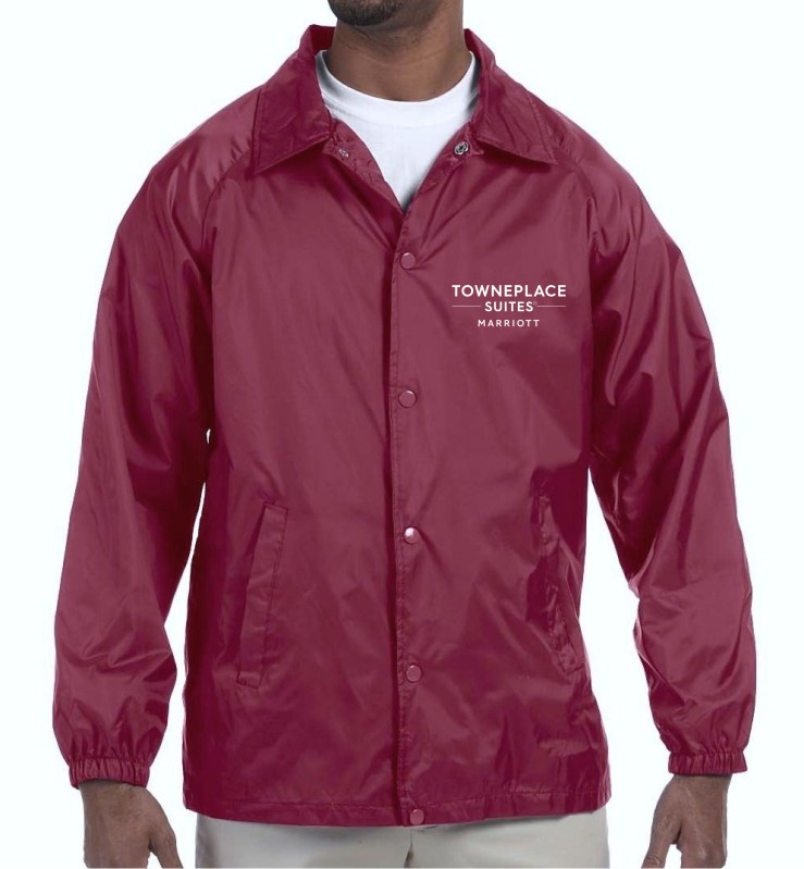 Light Lined Jacket - Nylon Shell/Polyester Lining - for Cooler Weather
